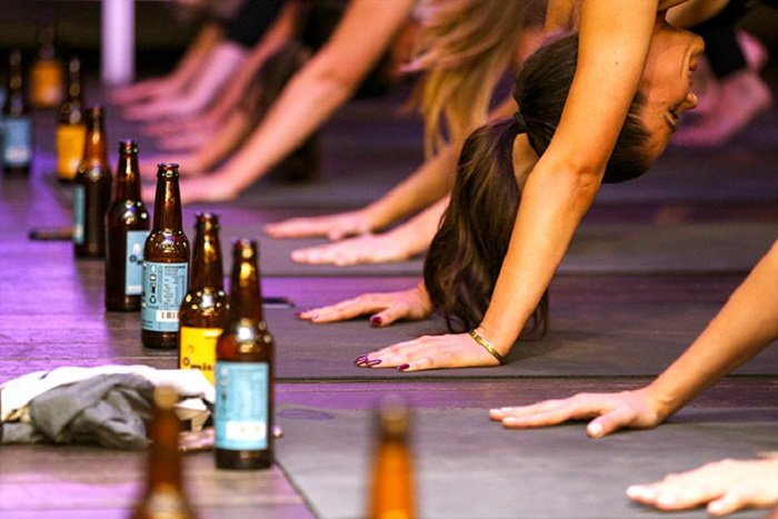 Why Beer Yoga Could be the Next Big Thing? Find the Answers Here